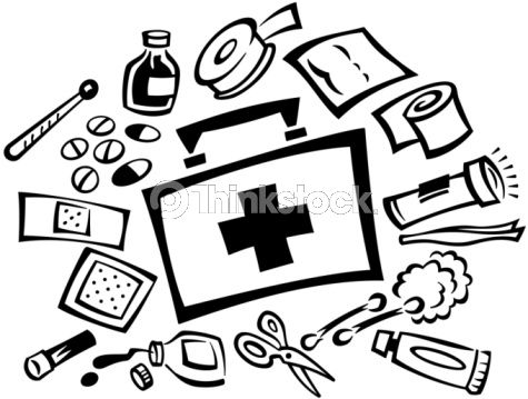 Disaster Supply Kit Clip Art