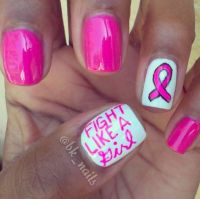 Nail art, Nice and Cancer on Pinterest