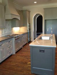 Sherwin Williams Dorian Gray cabinets and Urbane bronze ...