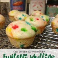 Funfetti Muffins (One Weight Watchers Point)
