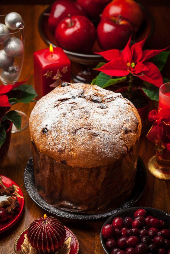 Italian christmas Italian christmas cake and Christmas