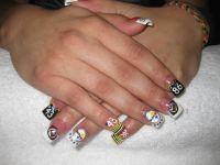 Pittsburgh Steelers nail design  | My Kenz | Pinterest ...