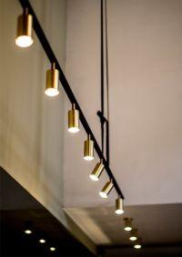brass track lights   Lighting   Pinterest   Lighting ...