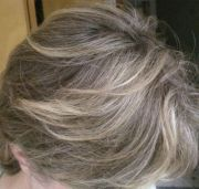 highlight grey hair - google