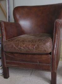 Restoration Hardware Professor's Leather Chair | Household ...
