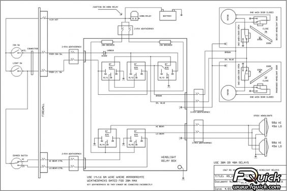 Gm Headlight Wiring Harness Diagram 97