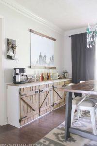 Upcycled Barnwood-Style Cabinet | Furniture, Style and ...