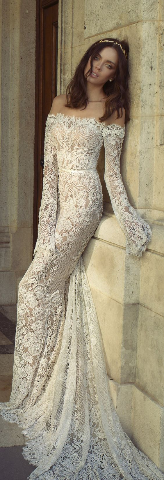 Vintage lace wedding dresses Lace wedding dresses and Lace weddings on Pinterest