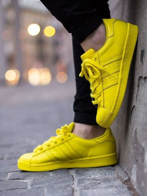 Pharrell Williams x adidas Originals Superstar Yellow