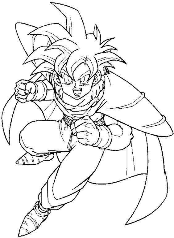 Goku Cape