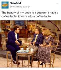 Cosmo Kramer, Seinfeld | coffee table book about coffee ...