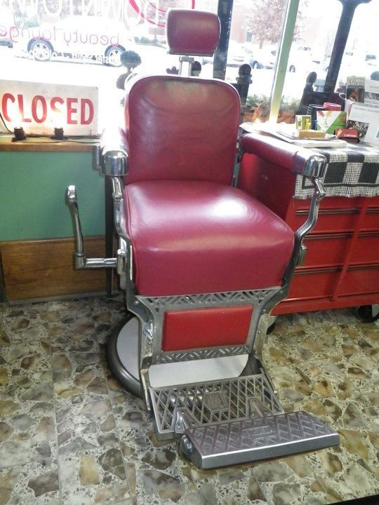 Barber chair Koken and Barbers on Pinterest