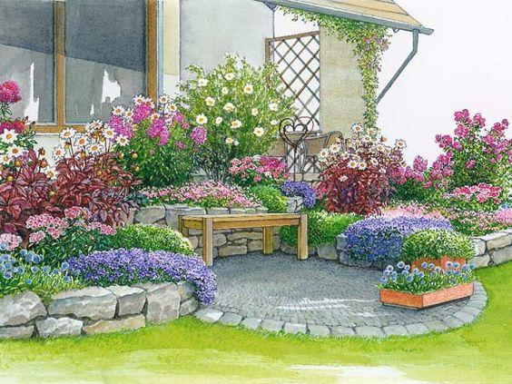 garten anlegen wenig arbeit - boisholz, Garten und erstellen