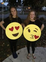 Easy, Quick Emoji/Emoticon Costume for All Ages: