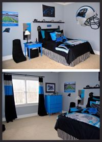 Carolina Panthers bedroom | football | Pinterest ...