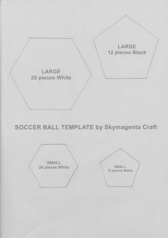 Soccer ball, Felt crafts and Craft tutorials on Pinterest