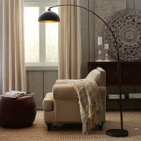 Golden Arc Floor Lamp