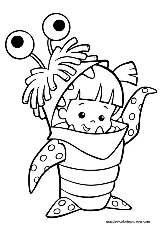Monsters, Coloring pages and Coloring on Pinterest
