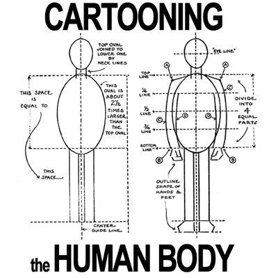 Step cartooningthehumanbody lessons Figure Drawing : How