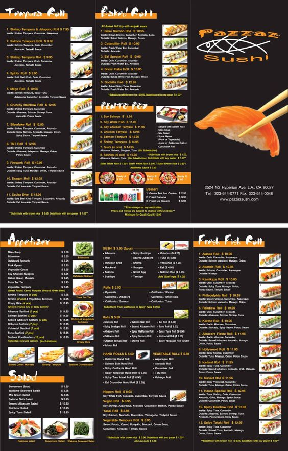 Japanese Restaurant To Go Menu Design And Printing