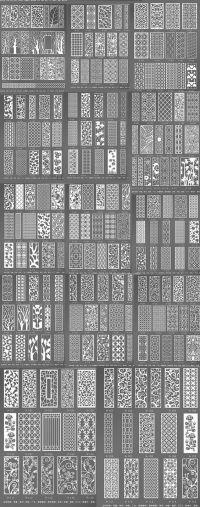 MDF lattice/flower window Shoe cabinet TV wall clothing ...