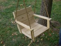 Tree swings, Wood chairs and Swings on Pinterest