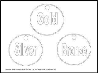 Olympic Coloring Sheets, Free Printable Olympic Medals
