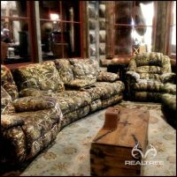 Realtree Camo Couch - it's perfect for mancave. # ...