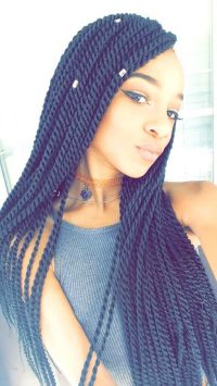 Senegalese twists | HAIR | Pinterest | Follow me, Twists ...