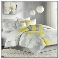 gray and yellow bedding | Grey Bedding Sets Queen | master ...