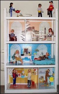 Sindy doll house - I had this but not all the furniture ...