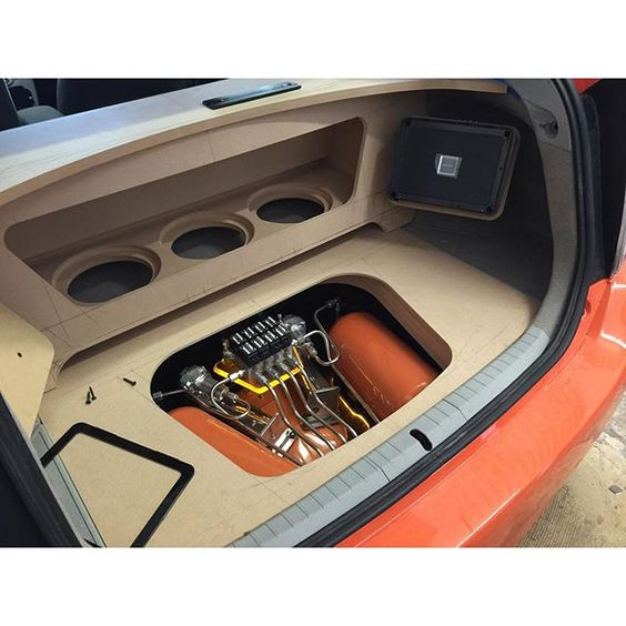 Sound System Speakers In Car Automotive Infographics And Diagrams