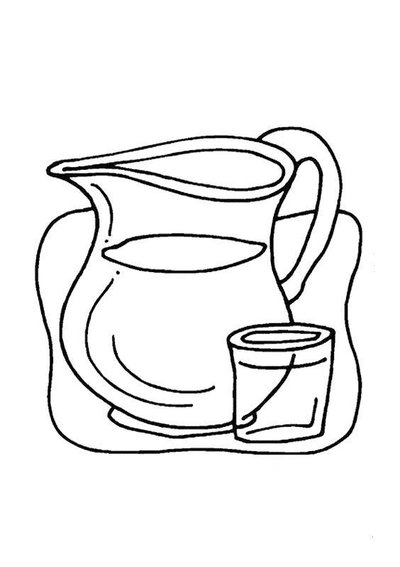 Mi colección de dibujos: Dibujos de agua para colorear con