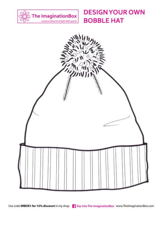 The imaginationBox: design a bobble hat, free template