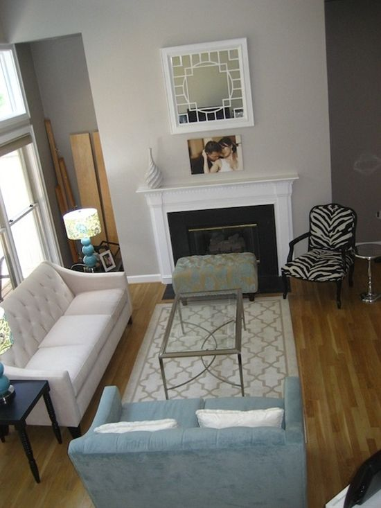 living rooms with grey couches black room table sherwin williams modern gray for foyer and ...
