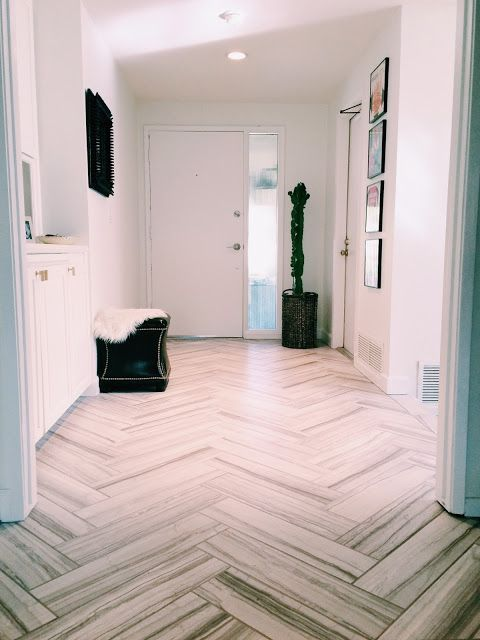 home depot kitchens barbie gourmet kitchen new entryway tile (holtwood hipster) | herringbone, ...