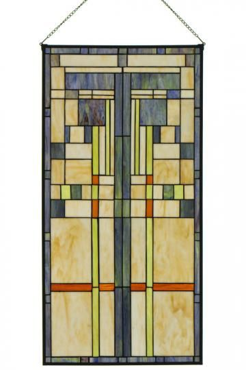 Craftsman design stained glass!