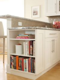Kitchen island, breakfast bar. I would love to add a ...