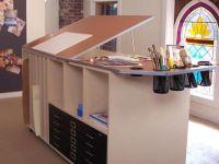 Art Desk With Storage | www.imgkid.com - The Image Kid Has It!