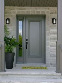 single front door with one sidelight - Bing images | Front ...