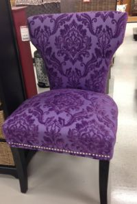 Love this purple chair!!!!!!! | Purple is my Passion ...