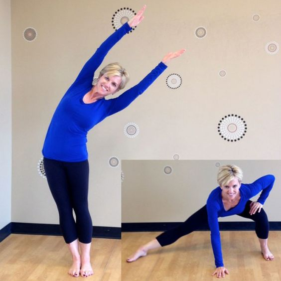 Image result for Tree lean to side lunge gif