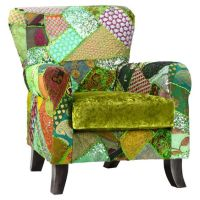 Boho green, Arm chairs and Chairs on Pinterest