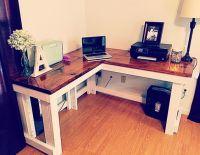 Corner desk | DIY | Pinterest | Desks and Corner desk