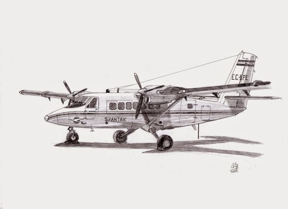 De havilland, Twin and Otter on Pinterest