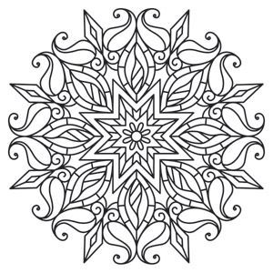 black and white pictures of intricate art to color