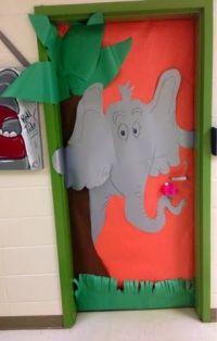 Dr Seuss classroom door- Horton hears a Who | Read Across ...