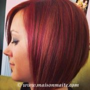 copper red magenta and natural