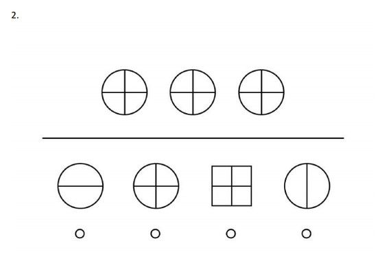 Parent say to your child: Look at the shapes on top. They