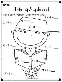 Johnny Appleseed Worksheet - Free worksheets library ...